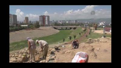 """Yumuktepe'de 6 bin 500 yıllık """"saray"""" bulundu - MERSİN"""