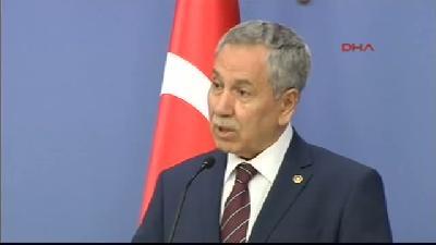 Başbakan Yardımcısı Bülent Arınç, Bakanlar Kurulu Sonrası Konuştu - Yargıtay'ın Feyzioğlu Kararı
