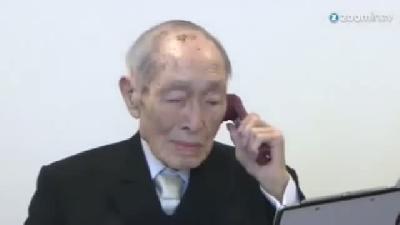 (görüntülü Haber) Dünyanın En Yaşlı Adamı 112 Yaşına Girdi