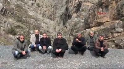 (görüntülü Haber) Kazan Vadisi'nde Kaçak Avcı İzi Sürdüler