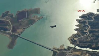 Süleyman Şah Saygı Karakolu'nu Korumaya Yönelik Hava Tatbikatı Yapıldı