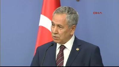 Başbakan Yardımcısı Bülent Arınç, Bakanlar Kurulu Sonrası Konuştu - Yeni Kabinede Arınç Yer Alacak M