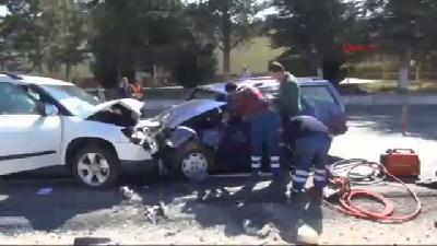 Çalışma Yapılan Yolda Kaza: 1 Ölü, 2 Yaralı