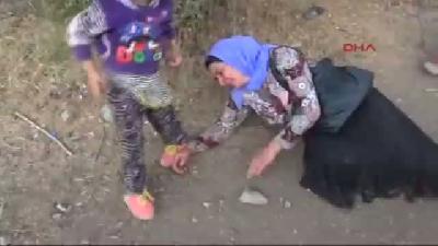 2- Cizre Türkiye'ye Kaçan Ezidilerin Yollardaki Dramı Devam Ediyor