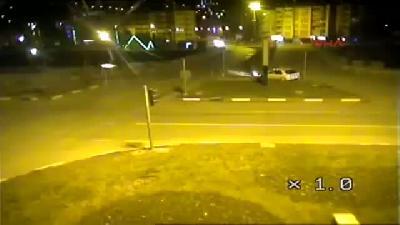 (görüntülü Haber) Tokat'ta Trafik Kazaları Mobese Kameralarına Yansıdı