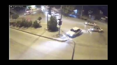 Trafik kazaları MOBESE'de - KIRIKKALE