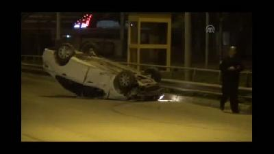 Trafik kazası: 2 yaralı - BURSA