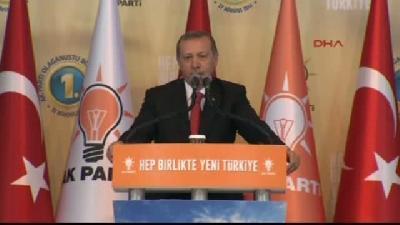 1- Erdoğan: Genel Başkanlık Vazifesini Artık Sizlere Teslim Ediyorum
