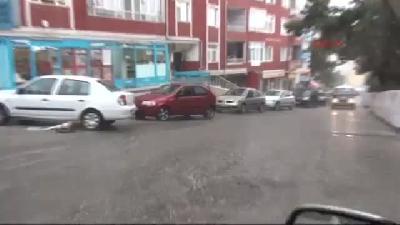Yozgat'ta Sağanak Yağmur