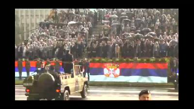 "Putin, ""Belgrad Taarruzu'nun 70'inci ve Birinci Dünya Savaşı'nın 100'üncü y"