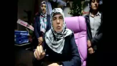 Erciş'in Kadın Başkanı Kendi Parasıyla Mor Makam Koltuğu Aldı