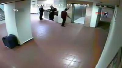 Polis, Hastaneden Kaçan Pkk'lının Firarını Görüntülerde Bulmaya Çalışıyor
