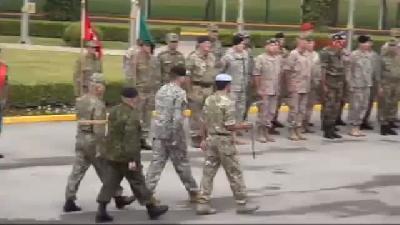 Nato Müttefik Kara Komutanlığında Komuta Devir Töreni