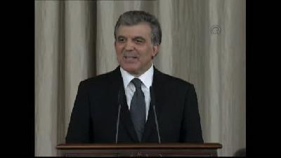 Cumhurbaşkanı Gül'den veda resepsiyonu (2) - ANKARA