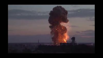 Koalisyon güçlerine ait savaş uçakları saldırı düzenledi (2) - ŞANLIURFA
