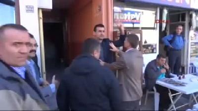 Rize'de Adliye Önüne Siyah Çelenk Bırakan Chp Heyetine Tepki