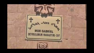 Bakan Şimşek, Mor Gabriel Manastırını ziyaret etti - MARDİN