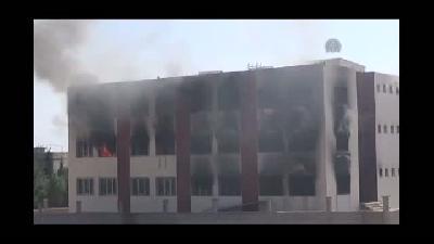 Özel öğrenci yurdu yeniden ateşe verildi - MARDİN