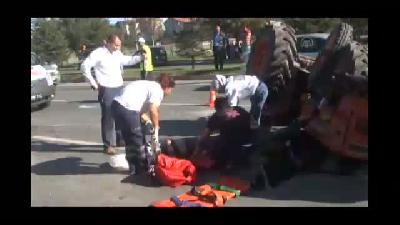 Trafik kazası: 3 yaralı - UŞAK