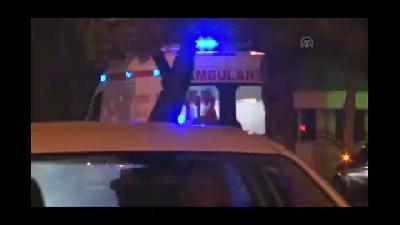 Polis aracına otomobil çarptı - KONYA