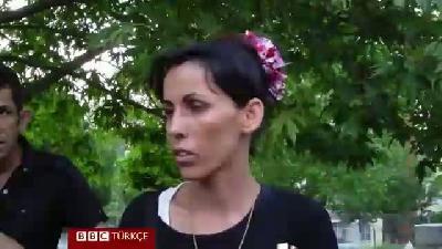 IŞİD'den kaçan Ezidiler Ankara'da parklara sığındı