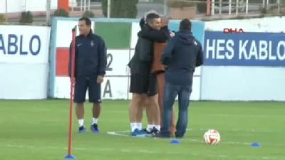 Trabzonspor'da Lokeren İçin Son Antrenman