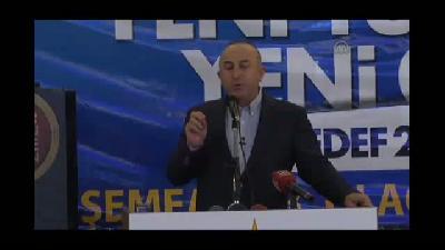 """Çavuşoğlu: """"Çözüm sürecini baltalamak için her fırsatı kullananlar var"""" - ANTALYA"""