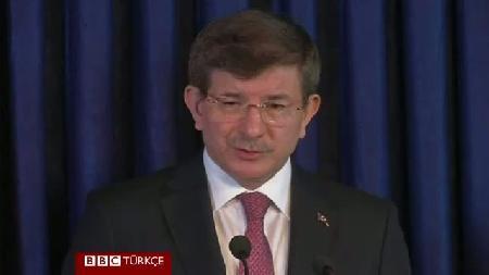 Davutoğlu: Kürt bölgesinin güvenliği için tüm destek vereceğiz