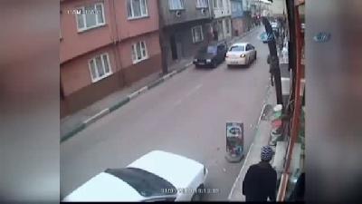Tüp Hırsızı Güvenlik Kamerasına Yakalandı