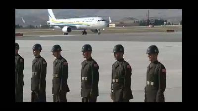 Kazakistan Devlet Başkanı Nazarbayev, Ankara'ya geldi