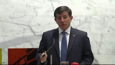 - Davutoğlu: