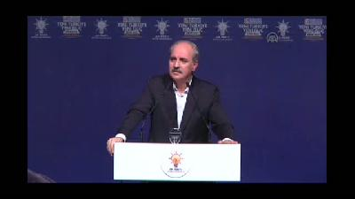 AK Parti Beyoğlu 5. Olağan İlçe Kongresi -  Başbakan Yardımcısı Kurtulmuş (2) - İSTANBUL