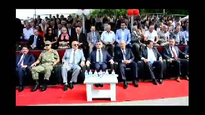 Türk Kızılayı Genel Başkanı Akar, kan mekezi açtı - MANİSA