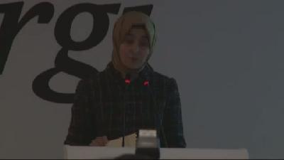 Sare Davutoğlu, Nihayet Dergisi'nin Tanıtım Toplantısına Katıldı