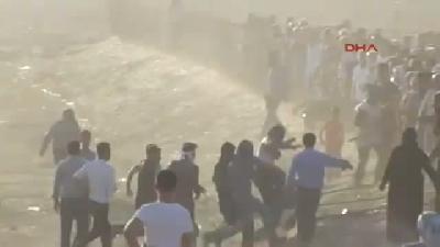 Derik'teki Gösterilerde Gaz Bombası Pencereyi Kırıp Evin İçine Düştü -4