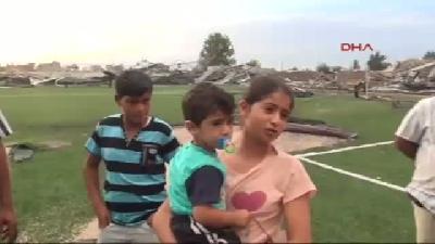 3- Adana'da Fırtına Yıkıp Geçti