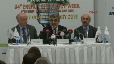 (görüntülü Haber) Enerji Bakanı Yıldız: (doğalgaz Kullanımı) Son 1(fotoğraflı) Günde Bazı Ülkelerin