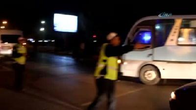 Erzurum'da Ambulansla Minibüsün Çarpistigi Kaza Mobese'de
