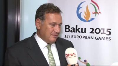(özel Haber) Avrupa Olimpiyat Komitesi Komisyonu (eoc) Başkanı Spyros Capralos