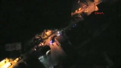 Beykoz'da Helikopter Destekli Uyuşturucu Operasyonu Kamerada