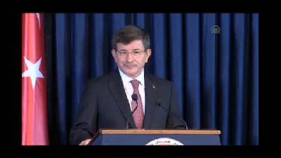 Davutoğlu: ''Kürt bölgesinin güvenlik ve istikrarı Türkiye için hayati bir konudur'&#