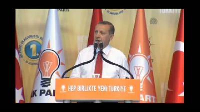 """Erdoğan: """"Sayın Davutoğlu bir emanetçi değildir"""" - ANKARA"""