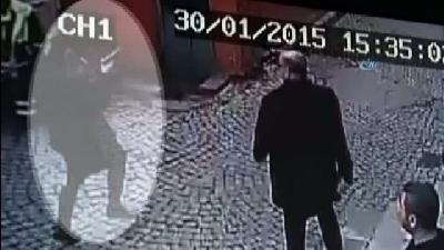 Kadın Saldırganın Kaçma Anı Kamerada