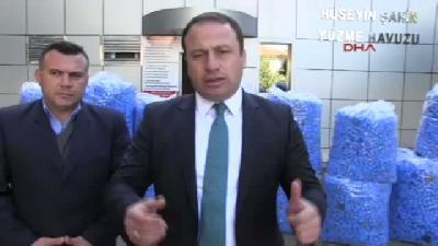 Erbaa'da 12(fotoğraflı) Bin Mavi Kapak Toplandı