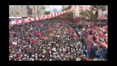 """Davutoğlu: """"Her türlü tuzak ve desiseye girebilirler"""" - KAHRAMANMARAŞ"""