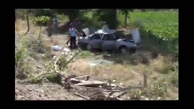 Trafik kazası: 8 yaralı - ELAZIĞ