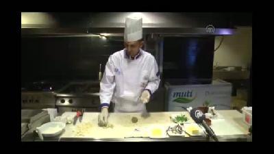 """Kayserili aşçı """"balıklı mantı"""" ile Asya 3'üncüsü oldu - KAYSERİ"""