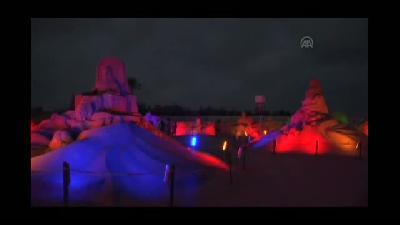 Dünyanın en büyük kum heykeli Antalya'da yapılacak