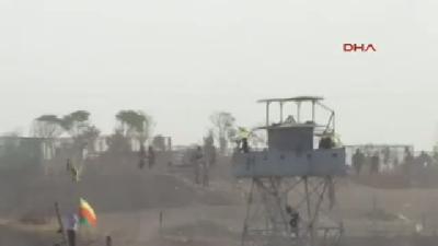 Derik'teki Gösterilerde Gaz Bombası Pencereyi Kırıp Evin İçine Düştü -2