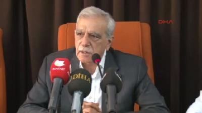 Ahmet Türk: Dtk, Özgür Yaşamı İnşa Etme Çalışmalarını Sürdürecek